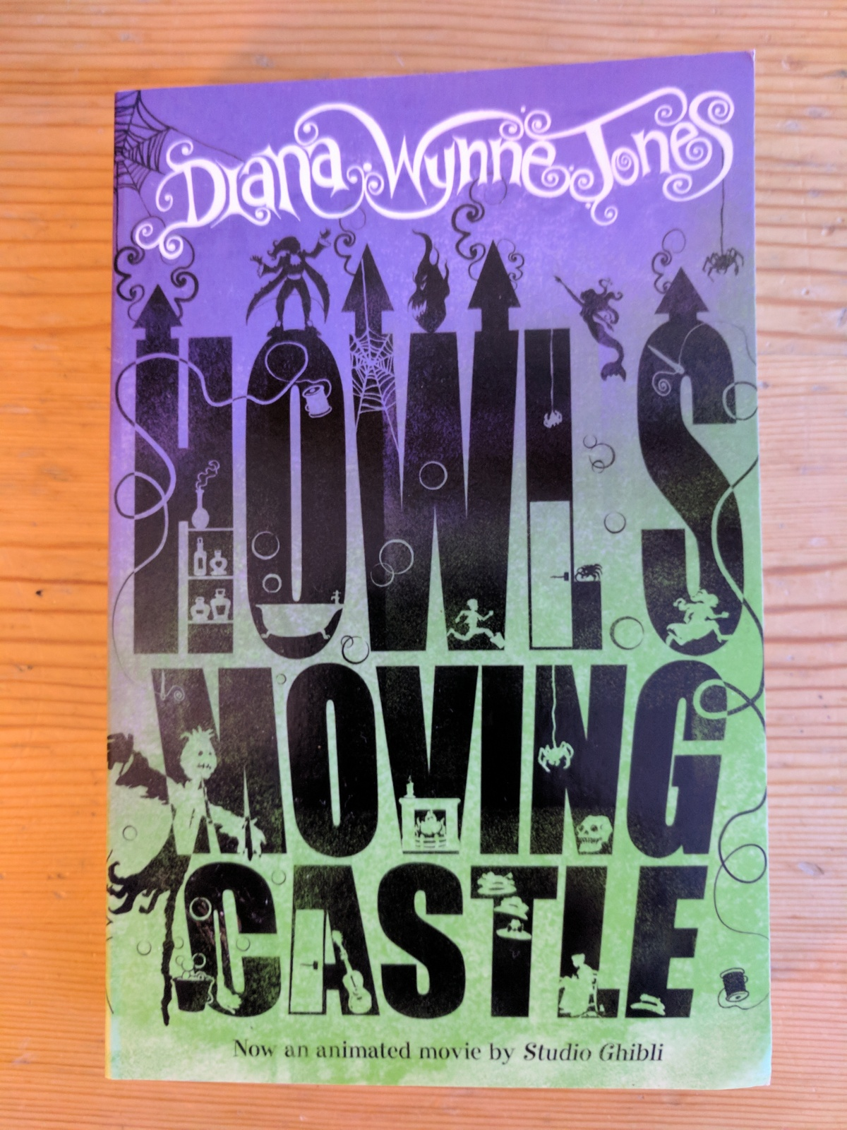 Books – Howl's Moving Castle